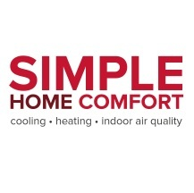 simple home comfort logo
