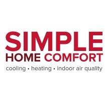 simple home comfort logo